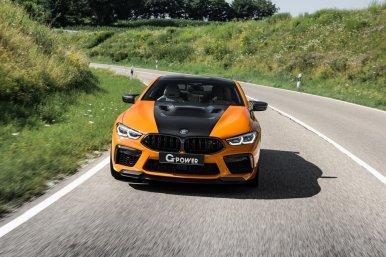 G-Power's G8M Hurricane RR: El BMW M8 Competition naranja que llega a los 900 CV