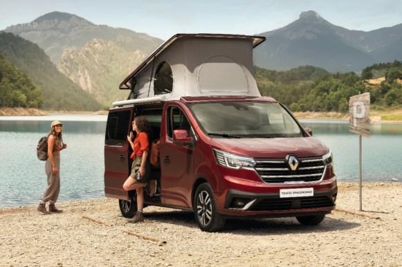 Renault Trafic SpaceNomad: Así es la camper francesa con la que quieren conquistar el segmento