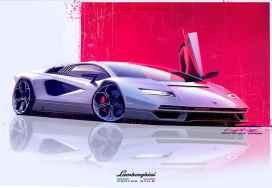 Vuelve el Lamborghini Countach: Con tracción total y mild-hybrid