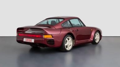 Este es uno de los 12 prototipos iniciales del Porsche 959: Está en venta