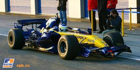Renault R27 Fisichella