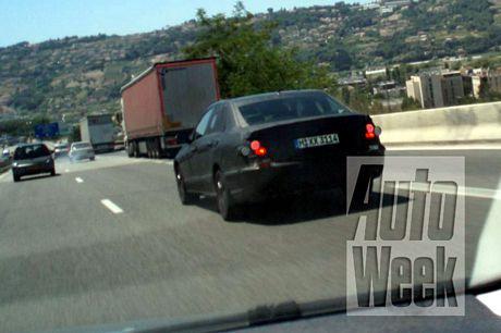 Nuevo Mercedes Clase E, cazado