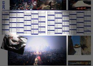 Calendario Planning 2015