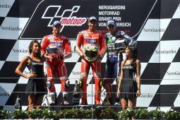 Podio MotoGP Austria 2016
