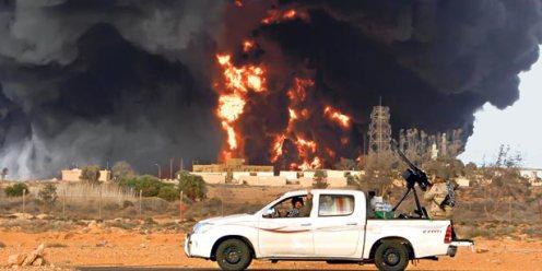 toyota truck libya nato