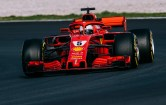 Montmelo test Ferrari