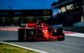 Ferrari Test Barcellona