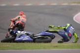 Rossi cade