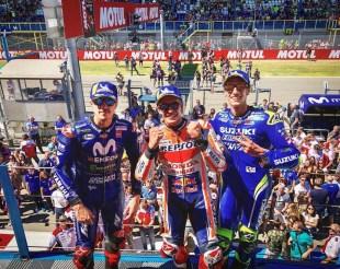 Podio MotoGP Assen