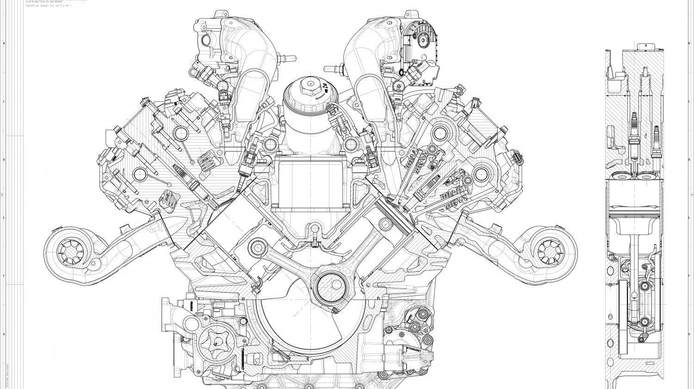 Motore Nettuno: nuovo, 620 CV e al 100% Maserati
