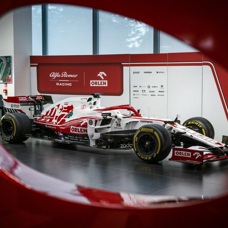 Alfa Romeo Racing Orlen in esposizione