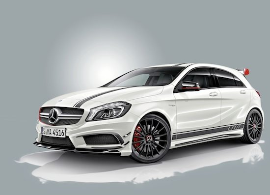 mercedes classe a 45 amg edition 1 motorage new generation. Black Bedroom Furniture Sets. Home Design Ideas