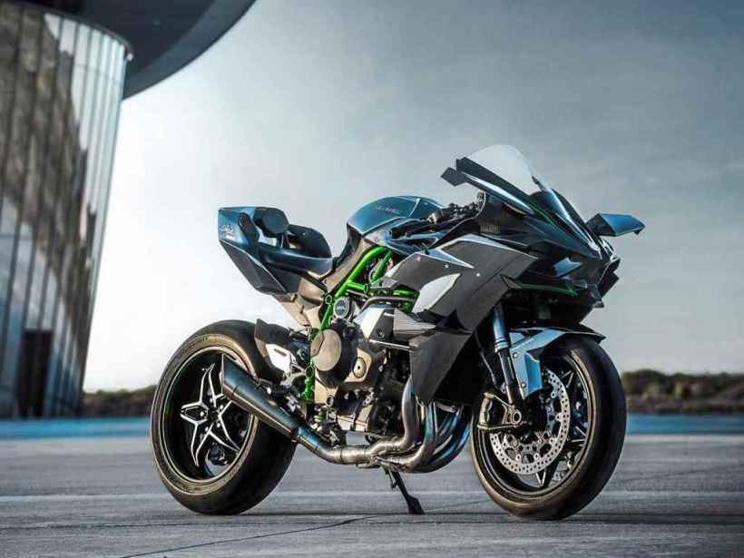 Hear The Kawasaki Ninja H2r S Exhaust Note On A Dyno Run