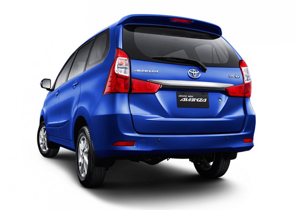 grand new toyota avanza 2015 1.3 e std m/t veloz launched in indonesia rear