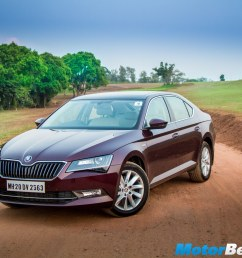 skoda superb corporate edition launched priced at rs 23 49 lakhs [ 2048 x 1366 Pixel ]
