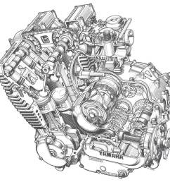 motorcycles yamaha xj maxim wiring diagram manual e books  [ 1205 x 1137 Pixel ]