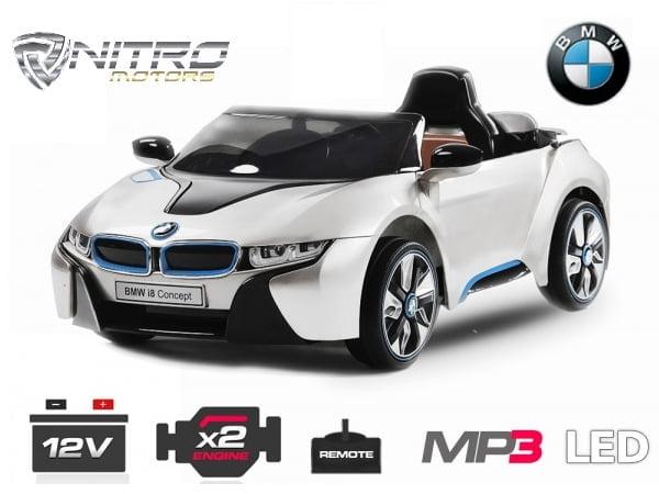 Auto Elettrica Per Bambini Bmw I8 Nitro Motors Miglior Qualità