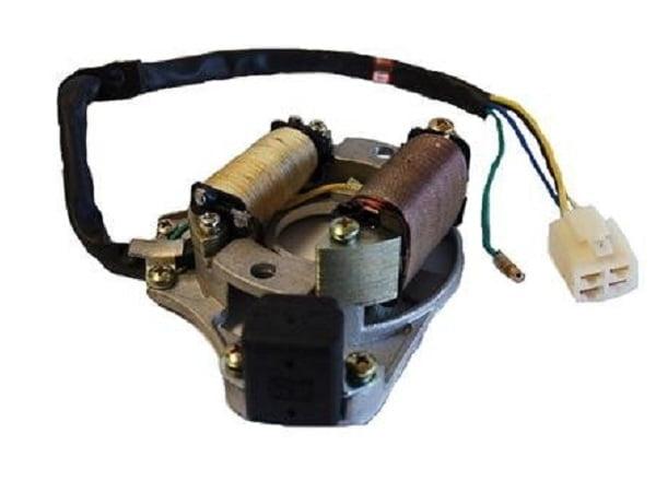 004110 STATORE MOTORE MIDI QUAD ATV 110cc 125cc 2 BOBINE