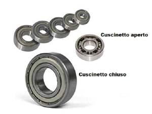 CUSCINETTO A SFERE 6205 2RS 52x25x15 per minimoto e Mini quad