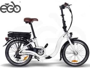 """Bicicletta Elettrica E-GO! Quick Line NICE 20"""" 250W"""