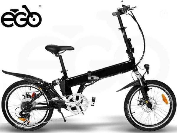 """Bicicletta Elettrica E-GO! Quick Line ST-TROPEZ 20"""" 250W"""