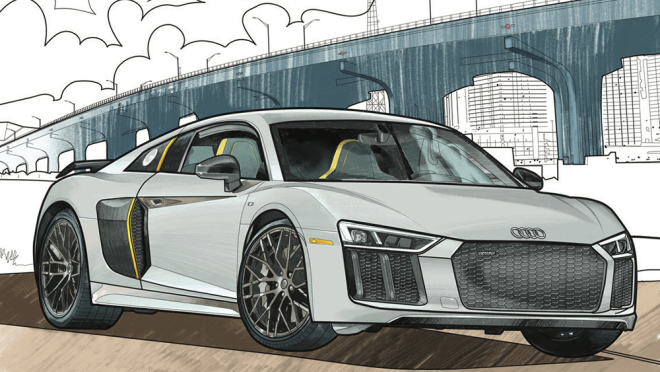 Coloring Pages For Car Enthusiasts And Kids