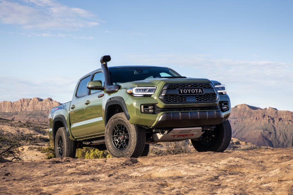 can the 2020 toyota tacoma trd pro make