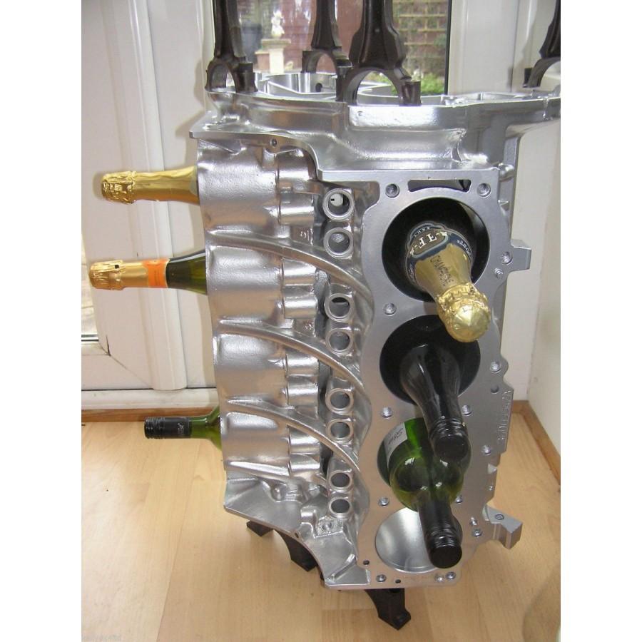 Weinregal Beistelltisch Couchtisch Tisch V8Motorblock