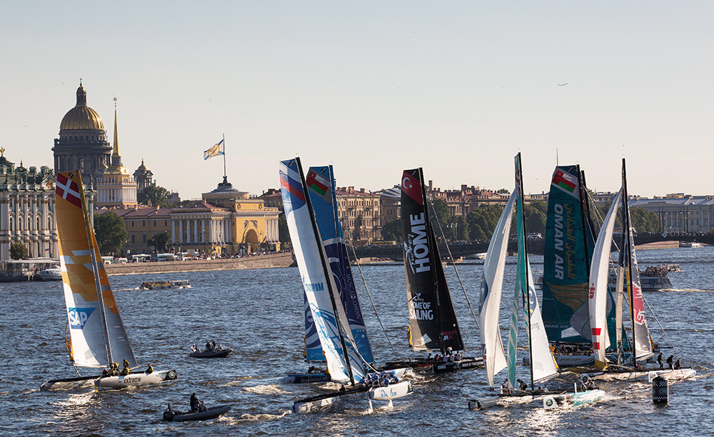 Extreme Sailing Series 2015 Act 6. St Petersburg (Fotoğraf: Lloyd Images)