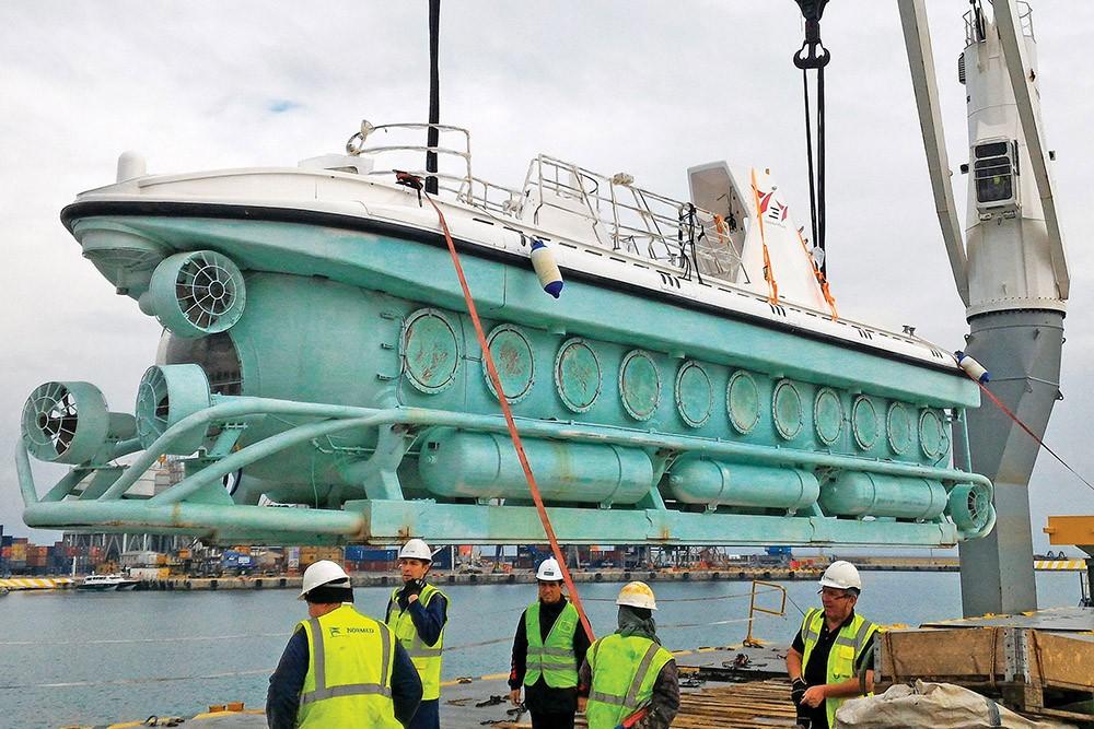 Türkiye'nin ilk turistik denizaltısı Nemo