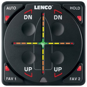 Lenco Control tekne trim sistemi