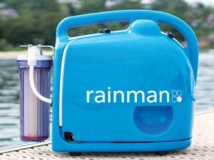 Fuarın en yenileri - Rainman Su Yapıcı