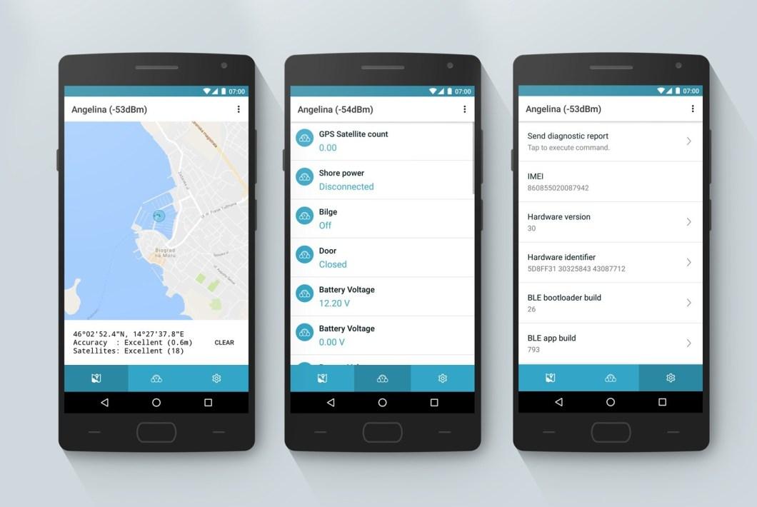 Boat Monitor sayesindee sintine pompası kullanımı ve akülerin durumu gibi bilgileri bir uygulama üzerinden izleyebilirsiniz.