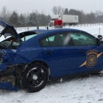 Michigan State Police Trooper Injured In St Clair County Accident