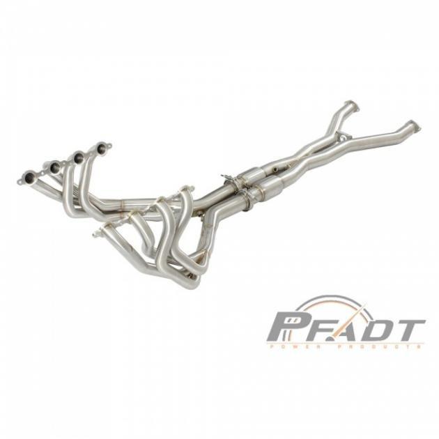 Corvette PFADT Street Tri-Y Long Tube Header & X-Pipe