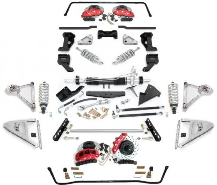 SpeedDirect 1963-1979 Stage 4 Dominator Suspension System