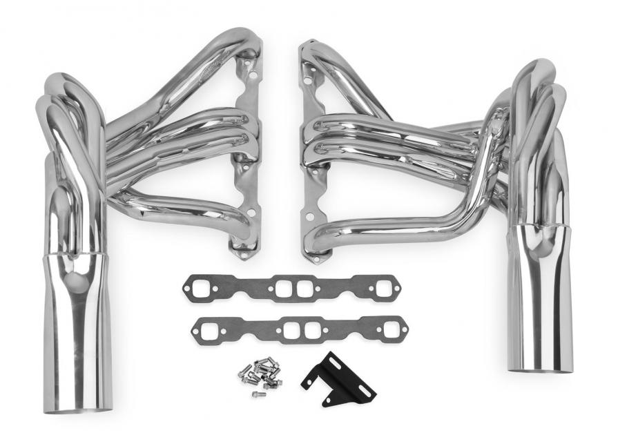 Corvette Hooker Super Competition Sidemount Headers Small