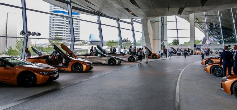 BMW i8 Roadsters