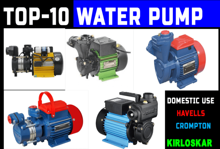 best water pump for home use