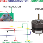 Cooler Motor Connection With Regulator