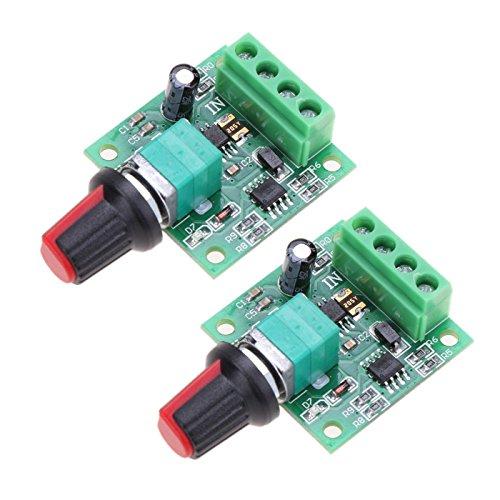 2A DC 1.8v 3v 5v 6v 12v 1803BK Low Voltage Motor Speed Controller PWM Module