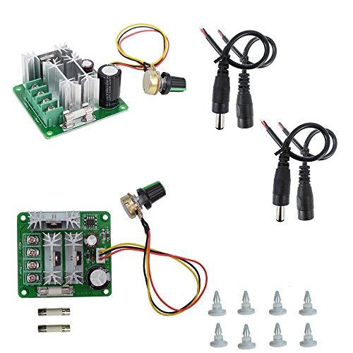 2 //Package PWM motor governor DC1.8V 3V 5V 6V 12V 2A DC motor governor Variable speed pulse width modulator ZJLBTY