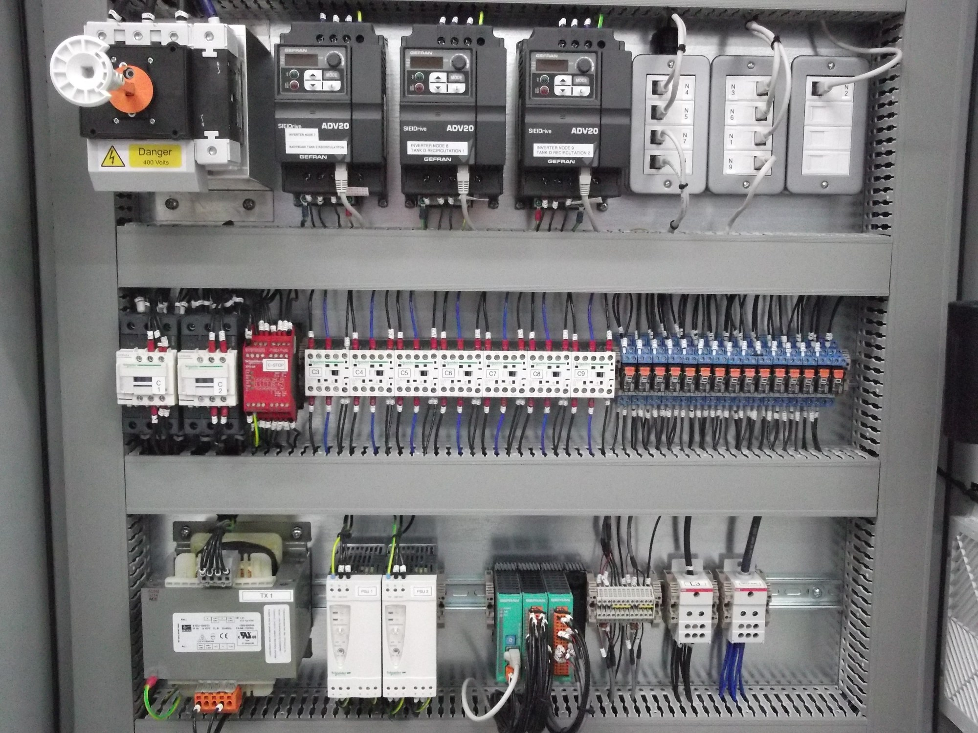 hight resolution of control panel