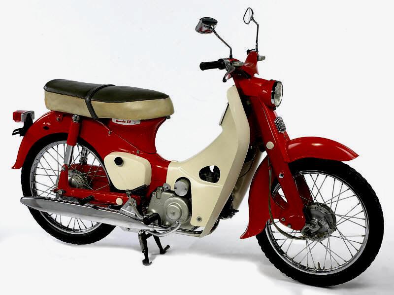 Honda Cub Type F - 1952