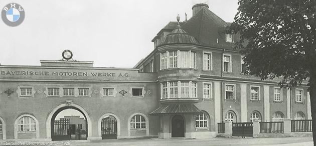 1925 BMW Fabrika Binası