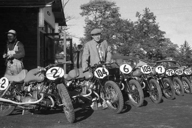 Soichiro Honda, Yarış Takımında Motosikletlerle