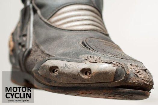 Oxtar TCS Sport boots - Toe Sliders