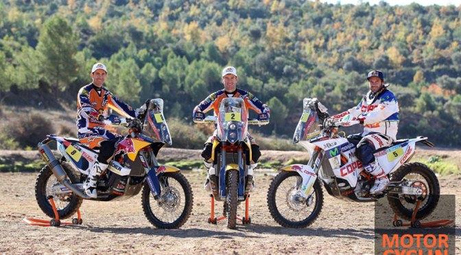 2014 Dakar motorcycle preparation videos