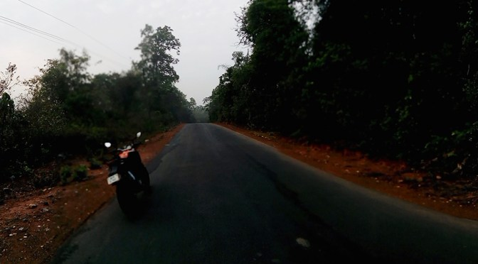 KTM Duke 200 touring – Quickie