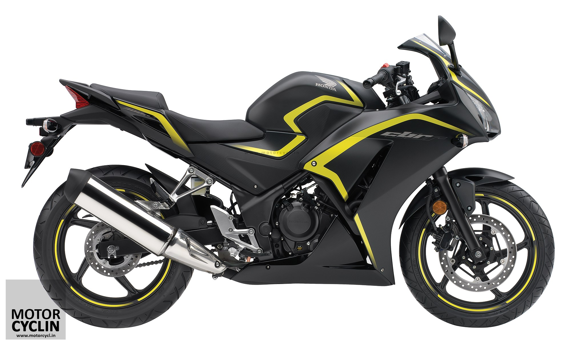 Yellow and Black 2015 CBR 300R & CBR 300R ABS